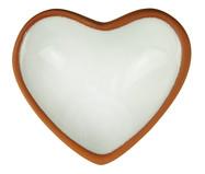Prato Decorativo Heart - Branco | WestwingNow