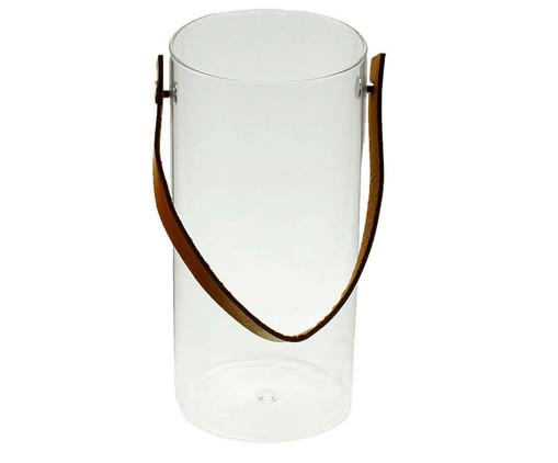 Cachepot Leather - Branco, Branco | WestwingNow