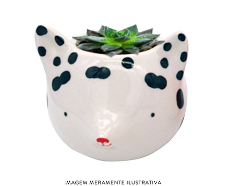 Cachepot Fox With Dots   WestwingNow