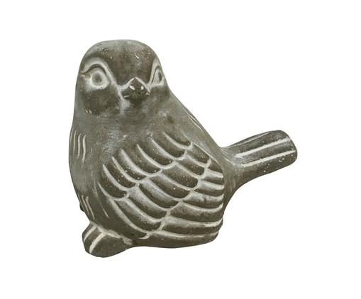 Adorno Looking Bird - Cinza, Cinza | WestwingNow