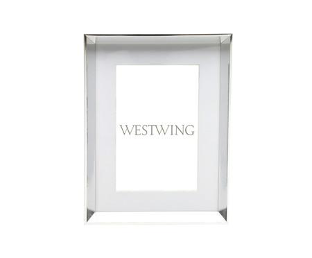 Porta-Retrato Slim Square - Prata | WestwingNow